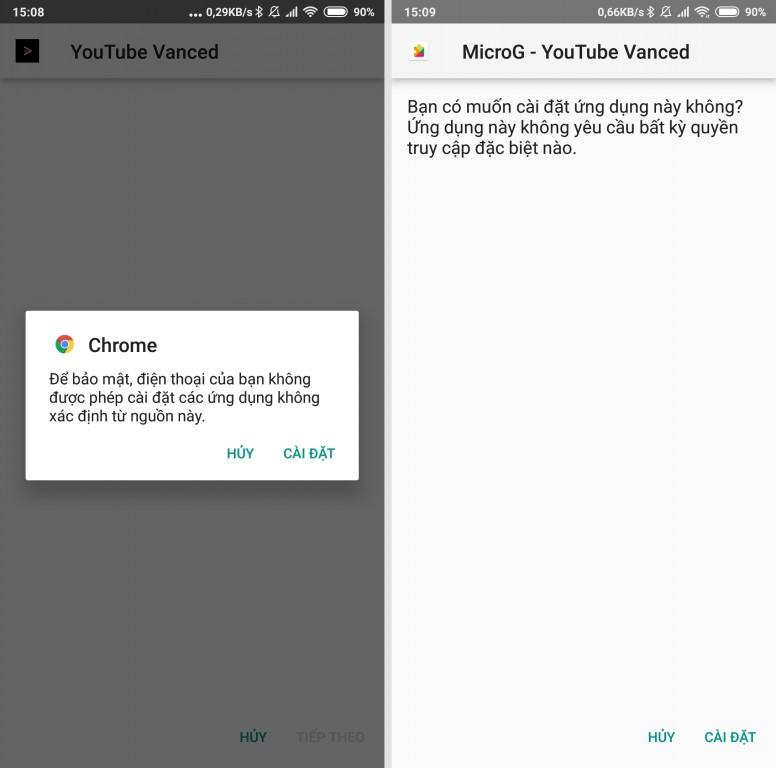 YouTube Vanced: Xem YouTube toàn năng nhất, không QC, chạy nền chơi nhạc, PIP, cử chỉ đa năng