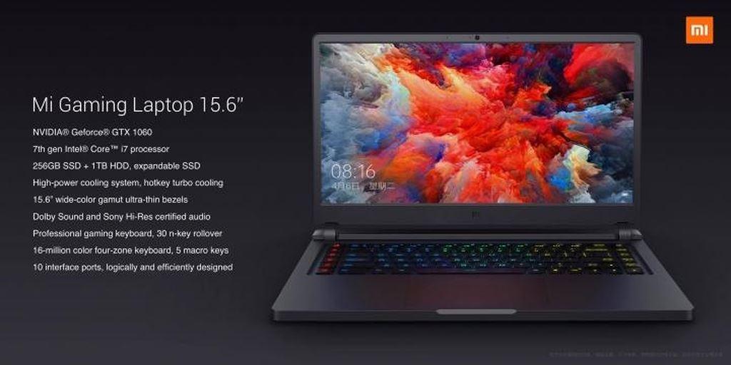 Ra mắt laptop chiến game Mi Gaming: Intel Core i7, 16GB RAM, GTX 1060, giá từ 953 USD ảnh 7