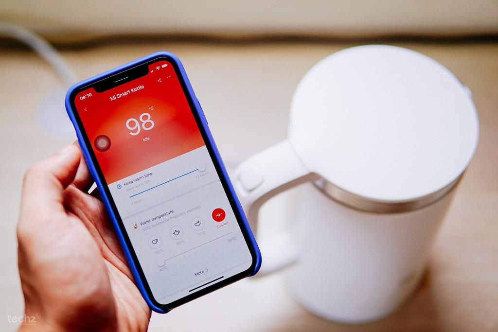 Mở hộp & Đánh giá Ấm siêu tốc thông minh Xiaomi: Nấu nước ngon, ít ồn, điều chỉnh bằng smartphone