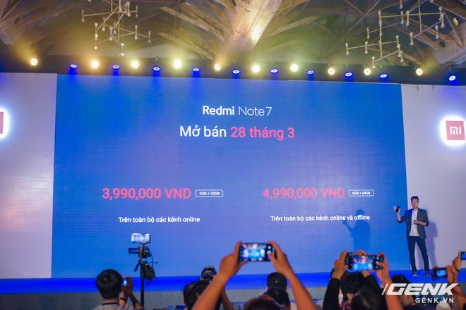 Trên tay Redmi Note 7 chính thức tại Việt Nam: camera 48MP, màn hình giọt mưa, giá từ 4 triệu đồng - Ảnh 17.