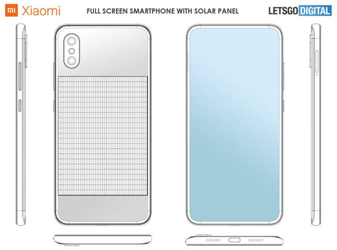 Xiaomi đăng ký bằng sáng chế cho smartphone có pin năng lượng mặt trời - Ảnh 1.