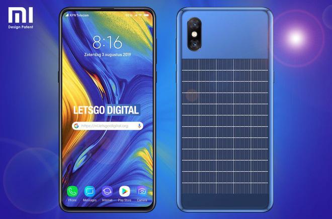 Xiaomi đăng ký bằng sáng chế cho smartphone có pin năng lượng mặt trời - Ảnh 2.