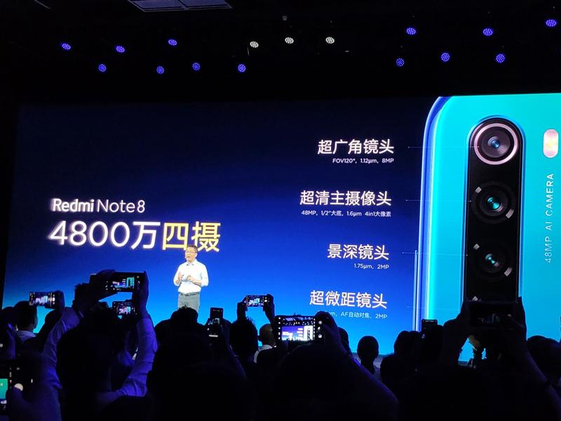 """redmi-note-8-pro-ra-mat-2 Redmi Note 8 và Redmi Note 8 Pro ra mắt: 4 camera, """"sinh ra để chơi game"""", giá từ 3.2 triệu"""