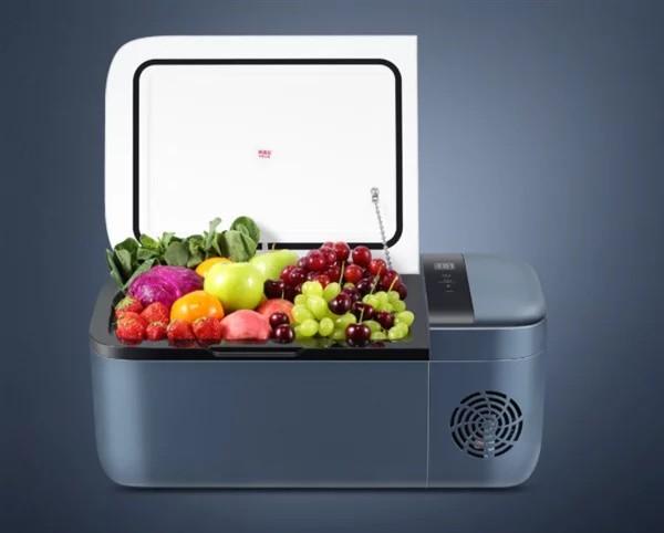 Xiaomi ra mắt Tủ lạnh để trên ô tô Indel B với cabin 12L,nhiệt độ tối ưu -18°C, giá 280 USD - Ảnh 1.