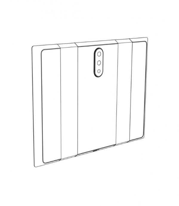 Xiaomi nộp đơn xin cấp bằng sáng chế cho smartphone màn hình gập - Ảnh 1.
