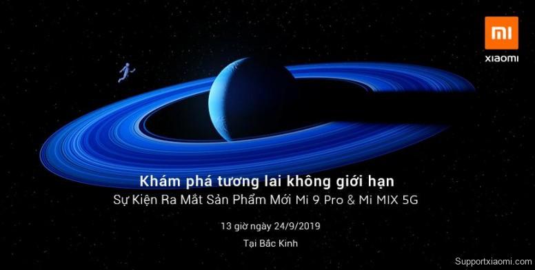 MIUI 11, Mi 9 Pro 5G, Mi MIX 5G và Mi TV sẽ được ra mắt chính thức tại Trung Quốc vào ngày 24/9