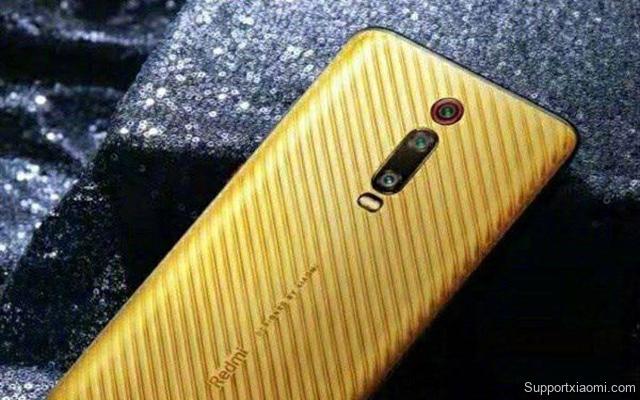 Redmi K20 Pro có phiên bản đặc biệt với mặt lưng bằng vàng, giá lên tới 7.000 USD