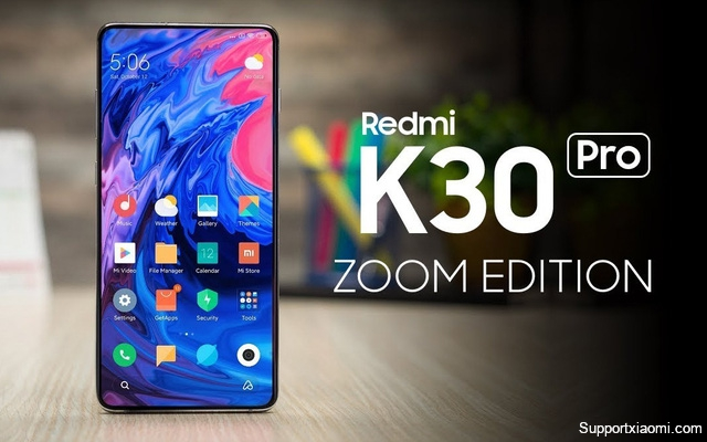 Xiaomi sắp ra mắt Redmi K30 Pro Zoom Edition, Redmi Note 9 và Redmi 10X
